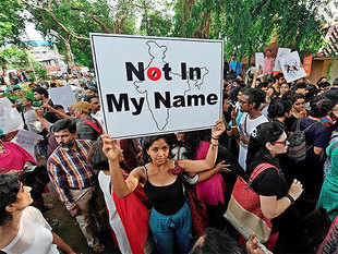 """As """"Not in My Name"""" protests spread, social activists, cutting across ideological leanings, have come up with a draft legislation against mob lynching."""