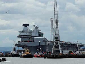 Britain aircraft carrier: Queen Elizabeth - Britain's ...