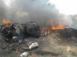 Rajasthan: IAF's MiG 23 aircraft crashes in Jodhpur's Balesar, pilots safe