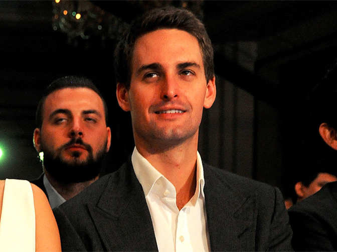 Snapchat founder evan spiegel had an epic reply to for Spiegel young money
