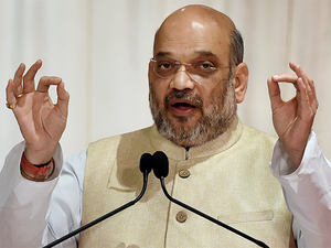 """""""Rahul baba is back from a vacation. He is asking what has BJP given to this country,"""" Shah said."""