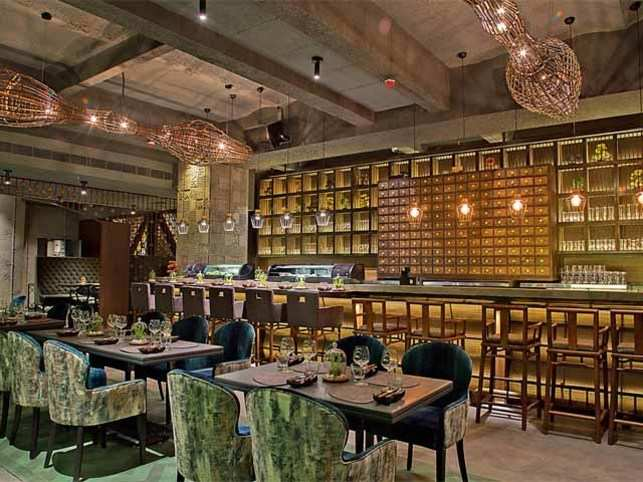 The POH at Kamala Mills is set to be Mumbai's marquee restaurant opening of the year. The theme of the old refashioned into the new & cool is playing out in various ways here.