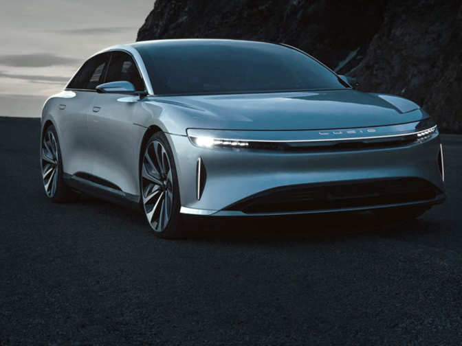 Tesla Google Finance >> TESLA: Future of luxury EVs: Lucid Air to take on Tesla | The Economic Times