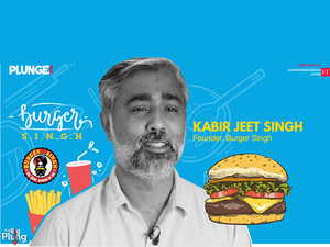 Founded in 2013, Kabir Jeet Singh and Nitin Rana opened Burger Singh with the desire to offer 'cost-effective big burgers' infused with Indian spices and flavours.