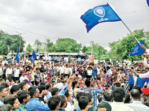 The protests included a call for Dalits to boycott the removal of cattle carcasses, a job they were made to do for generations.