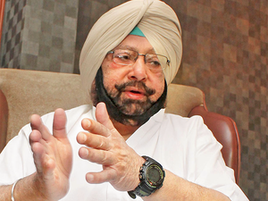 """""""Under the previous Punjab government, there were 7,000 farmer suicides. In the last four months of my government, 70 farmers have committed suicide,"""" Punjab CM Amarinder Singh said."""