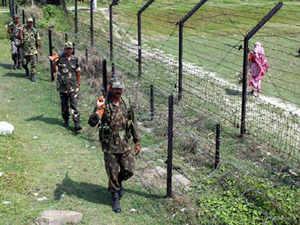 The RAB team on loudspeaker asked the suspected militants to surrender.