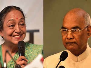 Both Kovind and Kumar are from the Dalit community and have canvassed hard by visiting states to seek support of legislators.