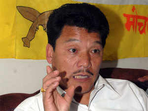 """If I need to shed my blood I am ready to do that, but the fight will go on till Gorkhaland is achieved,"" Gurung said."