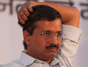 """""""We are supporting Meira Kumar. All should vote following their conscience. In a democracy, whoever gets more votes wins,"""" Kejriwal told reporters after casting his vote."""