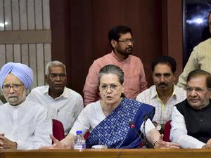 Congress party: Congress top brass meet to chalk out ...