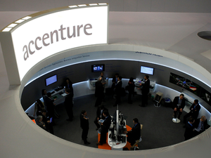 Digital already contributes over 50% of Accenture's revenue and it has trained about 70% of its technology workforce to be able to deliver those technologies.