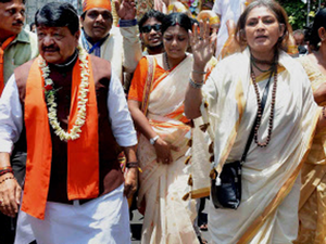 BJP's national general secretary Kailash Vijaywargiya and Rajya Sabha MP Rupa Ganguly have been issued CID notices in child trafficking case.