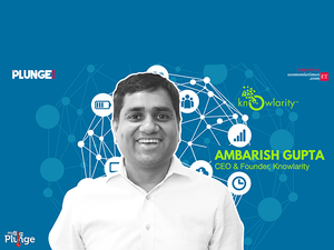 """""""Our platform uses AI to provide advanced telephony services to businesses,"""" says CEO and founder of Knowlarity, Ambarish Gupta."""