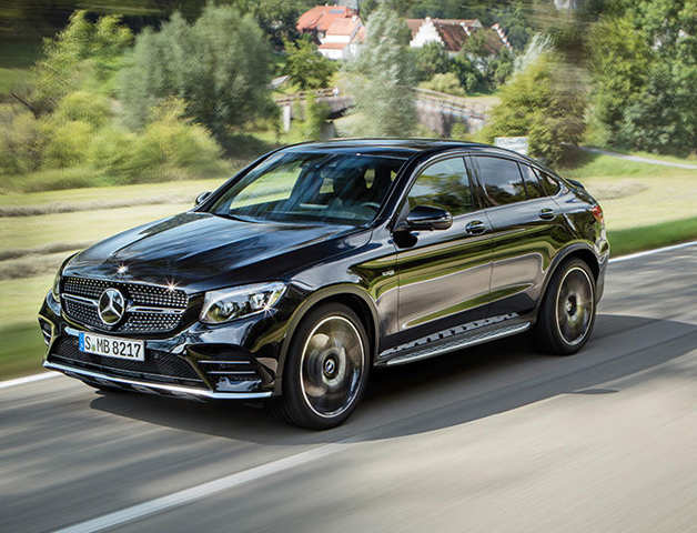 The Model Combines Elegance Of A Coupe With Dynamics Sports Car And Versatility Mercedes Benz Glc