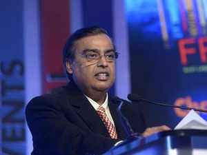 """""""We will invest in new sources of energy, aiming for leading positions in renewables. We will invest in new materials which will have dramatic and multiple new applications"""", said Ambani."""