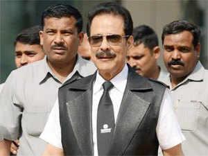 """Today, Subrata Roy (in pic) met Vijayan seeking time to turnaround the company,"" said a senior Irda official."