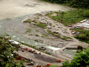 TLDP III, on river Teesta, with its installed capacity of 132MW was commissioned in the year 2011.