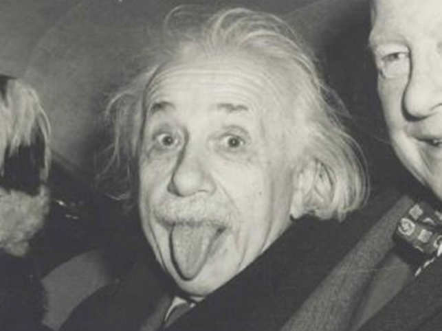 The Photo Is Signed Along The Left Margin A Einstein