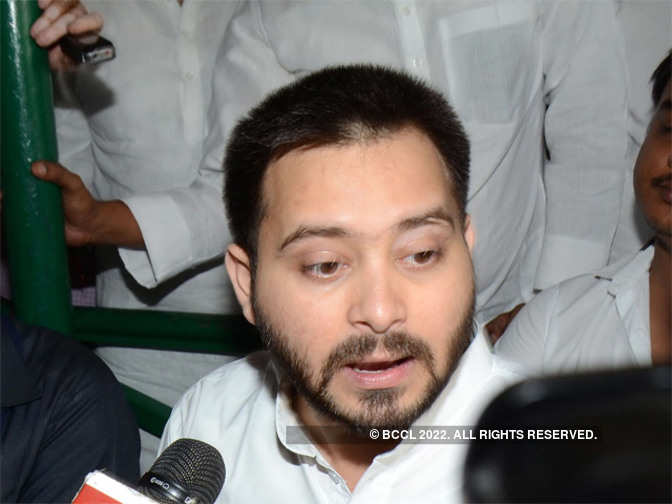 Keshri Nath Tripathi: Bihar crisis: Tejaswi Yadav meets governor, says will move court against his decision - The Economic Times