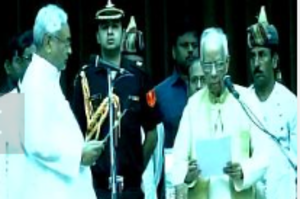 Nitish Kumar takes oath as Bihar CM for the 6th time