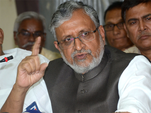 Prasad and Tejashwi were belligerent that they would not even offer clarifications, says Sushil Modi.