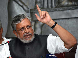 """BJP's Sushil Modi, sworn in as deputy CM of Bihar on Thursday, said that """"Bihar will benefit"""" from same parties being in power in Patna and Delhi after a long time."""