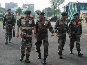"""Bipin Rawat visits LoC posts in J&K; directs troops to """"remain prepared"""""""