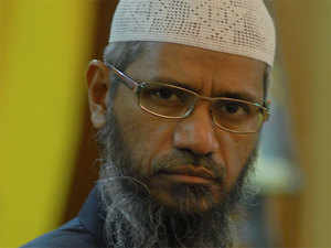 Naik is being probed under terror and money-laundering charges by the NIA. He fled from India on July 1, 2016 after terrorists in neighbouring Bangladesh claimed that they were inspired by his speeches on waging a 'jihad' (holy war).