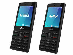 JioPhone hits the market in September and will be SIMlocked with the Jio network.
