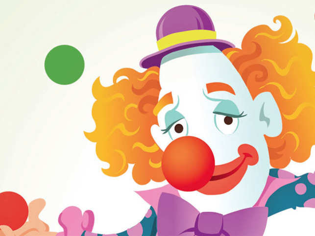 The word 'clown' is believed to have come from the Icelandic word klunni, meaning a clumsy person
