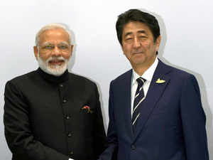 During the meeting of prime ministers of both the countries in 2014, it was decided to double Japan's FDI into India to Rs 2.1 lakh crore in five years' timeframe.