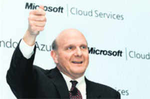 India to lead world in cloud computing: Ballmer