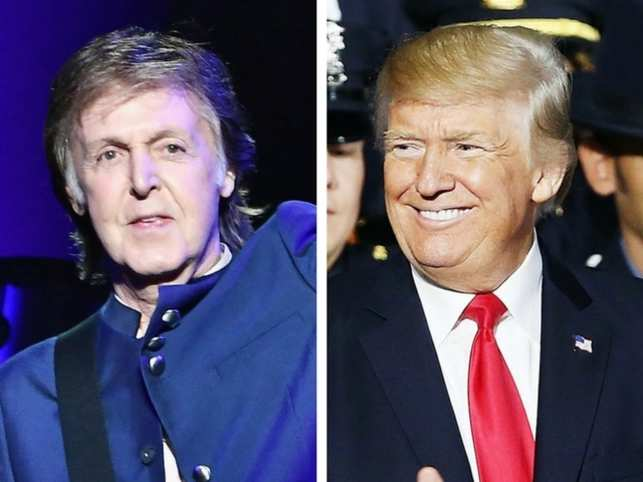 Paul McCartney may have something to say about Donald Trump