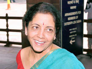 Commerce and industry minister Nirmala Sitharaman says iPhone maker's demand for customs duty rebate refused.