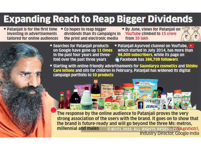 patanjali: Baba Ramdev's Patanjali teams up with Facebook