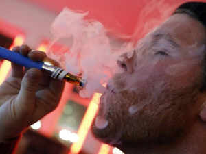 An e-cigarette is a battery-operated device that uses liquid nicotine, propylene glycol, water, glycerin and flavour to give the user the sense of smoking a real cigarette.