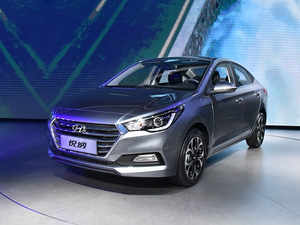 Verna Hyundai Unveils 5th Gen Verna Launch Later This