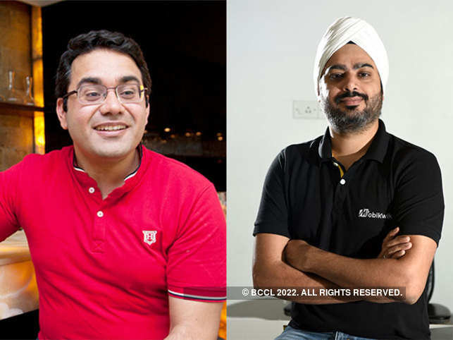 Bipin Preet Singh (right) and Kunal Bahl (left).