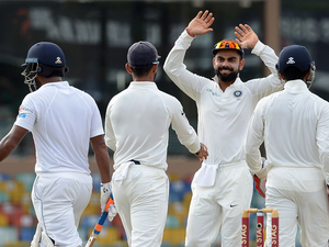 India extended their batting dominance of the first day with consummate ease on the second.