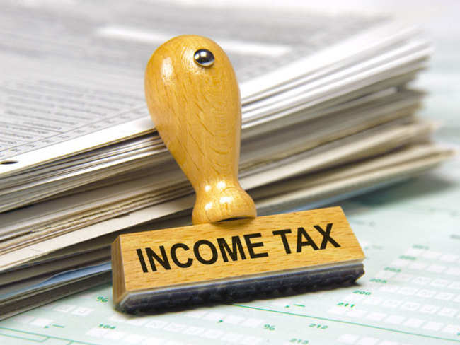 What is a belated income tax return and what are its consequences