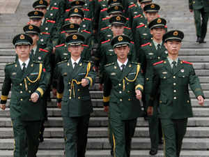 A visit by Indian journalists, sponsored by the Chinese government, today turned into a propaganda exercise by the Chinese Army for delivering its message.