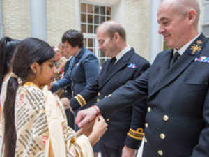 Raksha Bandhan: UK armed forces celebrate Raksha Bandhan