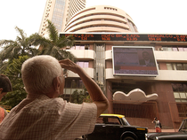 Nifty Realty bled the most, losing 4.40 per cent in trade after investors booked profits.