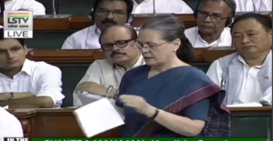 Quit India debate: Sonia Gandhi takes a dig at BJP & RSS