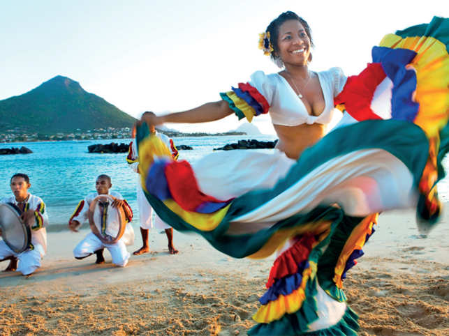 SEGA DANCE: Mauritius boasts of an overwhelming Indian influence in its music, food and traditions.