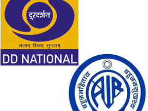 """Rajyavardhan Rathore said, """"A group of secretaries has recommended to transform Doordarshan and All India Radio as corporate entities. No decision has been taken so far."""""""