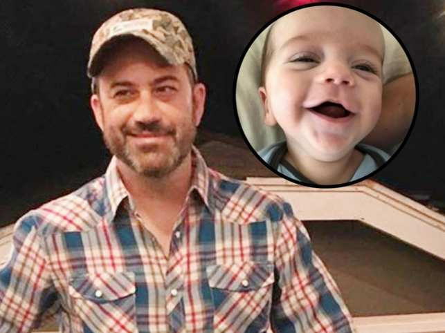 The TV host's son Billy was born with a heart defect in April and underwent a surgery.  (Image: Instagram/@jimmykimmel)