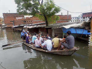 Hundreds of families have been displaced in the floods and landslides across the country.