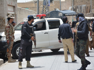 Just last month, a police vehicle was ambushed by gunmen in Quetta, killing 4 officers.